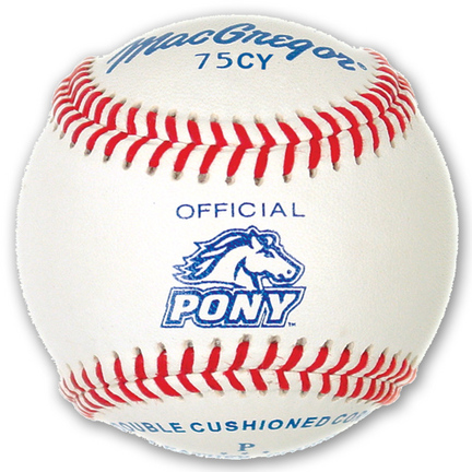 #75CY Official Pony League Youth Baseballs (1 Dozen)