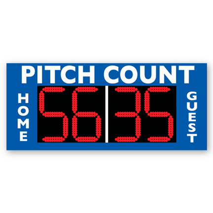 MacGregor® Stand Alone Baseball Pitch Count CP-MSBPCA