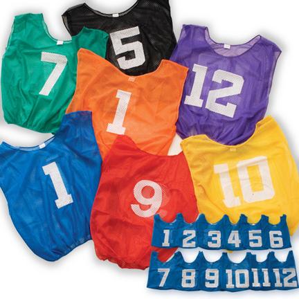 Adult Lightweight Numbered Scrimmage Vest (1 Dozen) CP-C47N