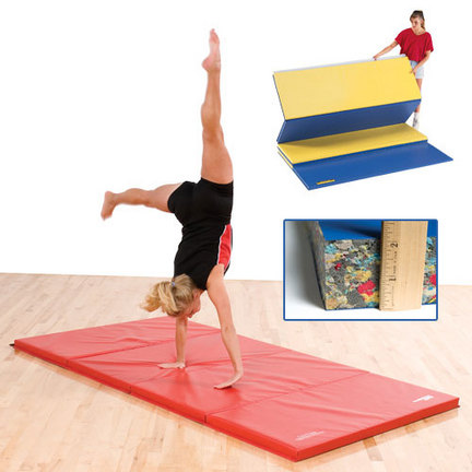 """4' x 8' x 2"""" Bonded Foam Mat with Fasteners"""