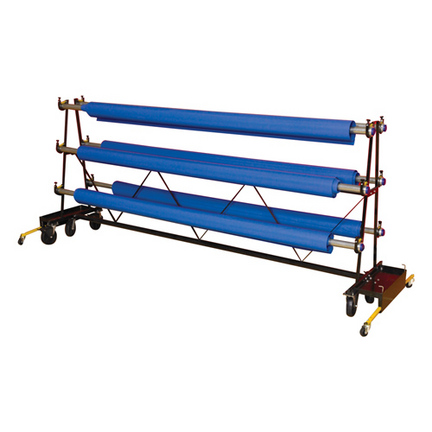 Gym Floor Cover Premier Storage Rack (6' Sections)