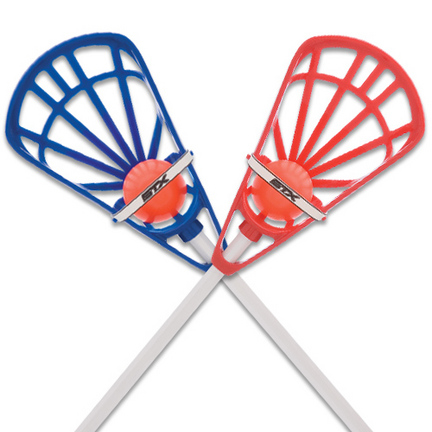 STX Lacrosse Training Set - Blue/Red