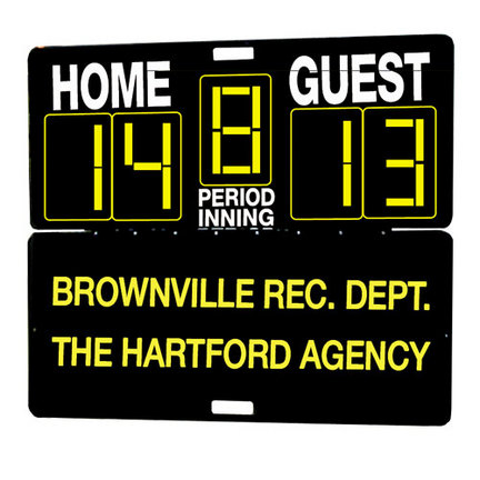 Fence / Wall Mount Bracket for the Multi-Sport Manual Scoreboard from MacGregor®