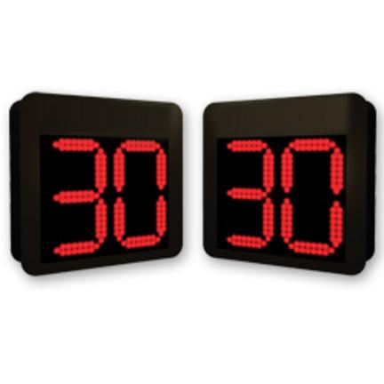 MacGregor® Permanent Mount Shot Clocks (Set of 2)