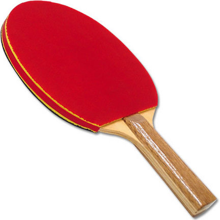 Deluxe Sponge Rubber 2.0mm Table Tennis Paddle