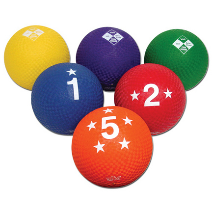 Voit® 4-Square Utility Ball Prism Pack (Set of 6)