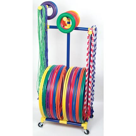 Jump Rope / Hoop Rack