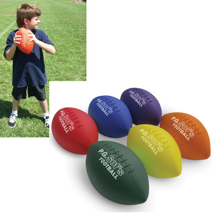 Color My Class® 9.25'' P.G. Sofs Footballs (Set of 6) CP-1255119