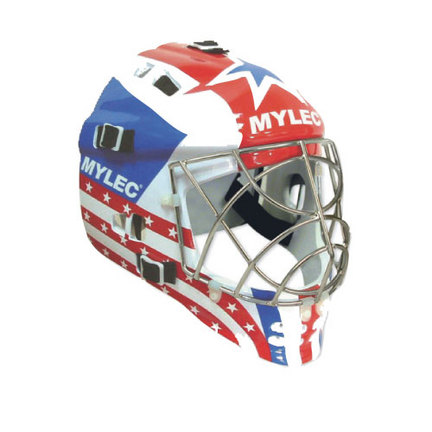 Mylec® Ultra Pro II Black Goalie Masks - 1 Pair