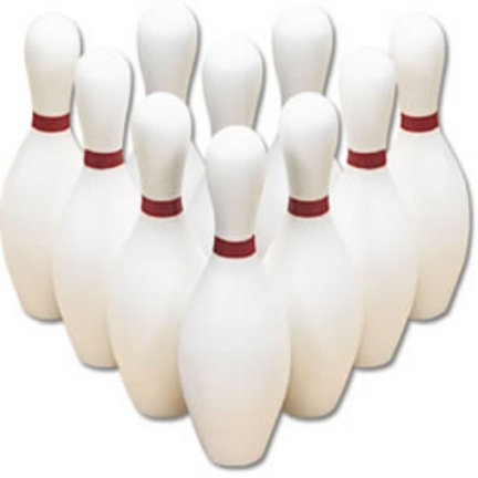 Replacement Set of Bowling Pins