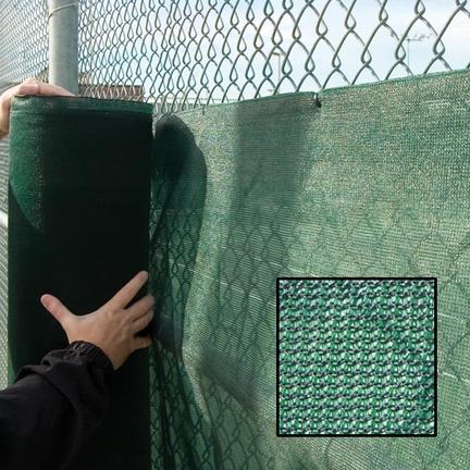 9' X 120' Solartex Tennis Court Weather Shade