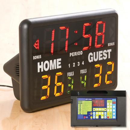 Multisport Indoor Tabletop Scoreboard with Remote