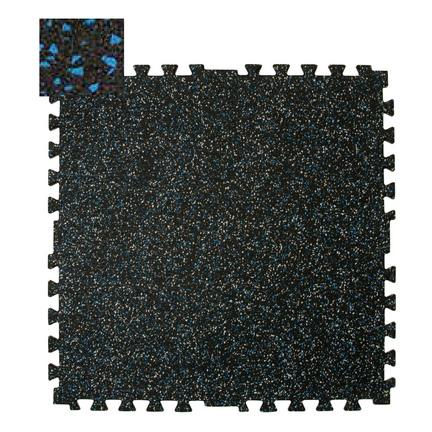 "28.5"""" x 28.5"""" x 3/8"""" Zip-Tile Flooring (Blue Fleck)"" CP-1300161"