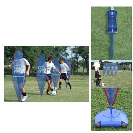 The Soccer Wall™ Training Aid with Weighted Bases