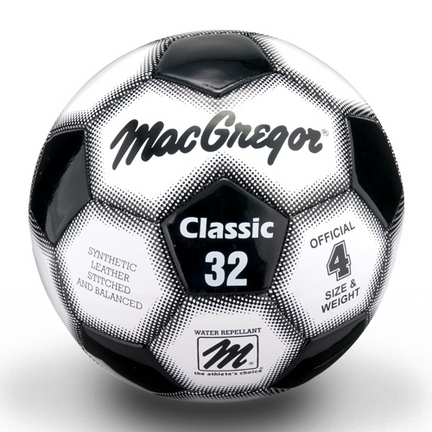 MacGregor® Classic Size 4 Soccer Ball