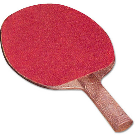 Unistructure Table Tennis Paddle with Rubber Face (1 Dozen)