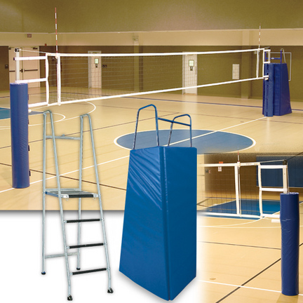 UTS Complete Volleyball System with Sleeves