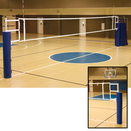 UTS Volleyball System without Judges Stand