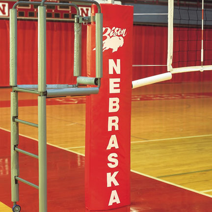 Centerline Elite Aluminum Volleyball System without Floor Sockets