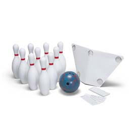 Cramer's Deluxe Bowling Set - Pins And A 5 lb. Bowling Ball