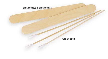 "6"" Cramer's Cotton-Tipped Applicators - Case of 10 Boxes (1000 per Box)"