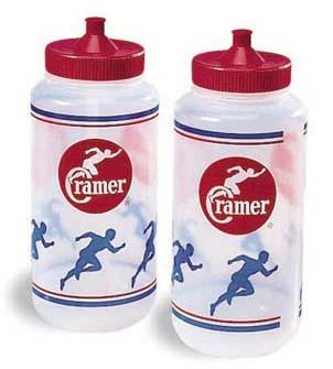 Cramer 1 Quart Big Mouth Plastic Squeeze Bottles - Case of 96 Bottles CR-023145