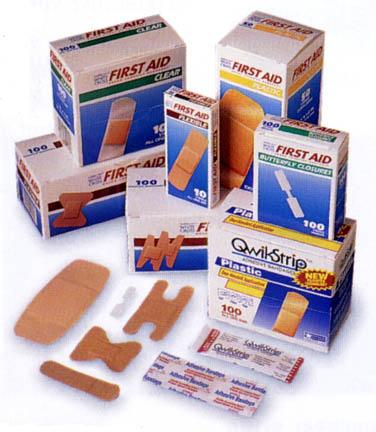 "3/4"""" x 3"""" Cramer Adhesive Bandages - Case Of 10 Boxes (16 per Box)"" CR-030505"
