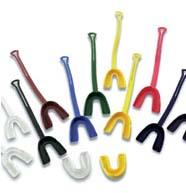 Cramer Orange Senior Mouthpiece with Strap - (100 Per Case - Individually Bagged)