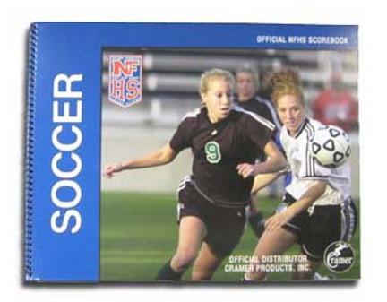 Cramer National Federation High School Soccer Scorebooks - Set of 6