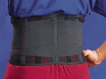 "Cramer Lumbar Back Support, Size Small / Medium 22"" - 32"""