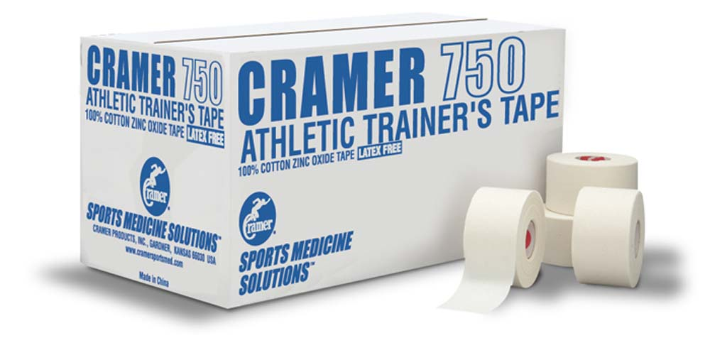 Cramer 750 Athletic Trainers Tape (White) - Case CR-280750