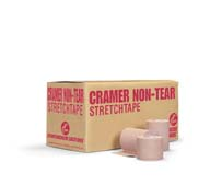 "Cramer 2"" Non-Tear Stretch Tape - Case of 24 Rolls"