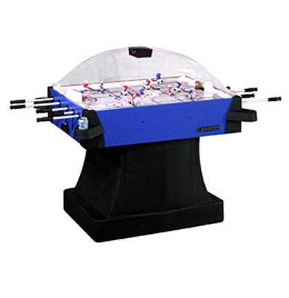 Signature Stick Hockey Game Table with Pedestal from Carrom Sports Blue