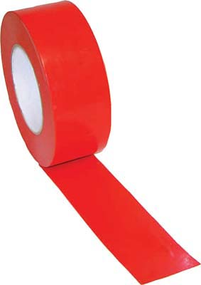"2"" Width Gym Floor Red Vinyl Plastic Marking Tape - Set of 10 Rolls"