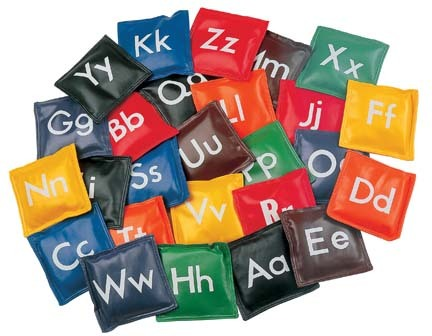 Alphabet Bean Bag Set