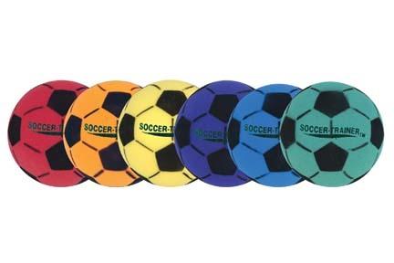 "8"" Ultra Foam Soccer Balls - Set of 6"