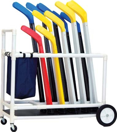 "45"" x 19"" Floor Hockey Cart"