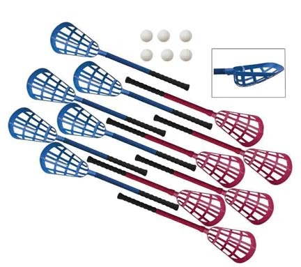 "30"" Rhino® Ultra Grip Lacrosse Set"