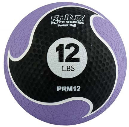 12 lb. Rhino® Elite Medicine Ball