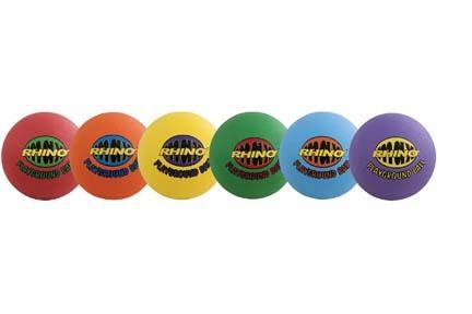 """8.5"""" Rhino® Playground Balls - Set of 6"""