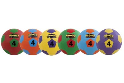 """8.5"""" Rhino® Playground Soccer Ball Set"""