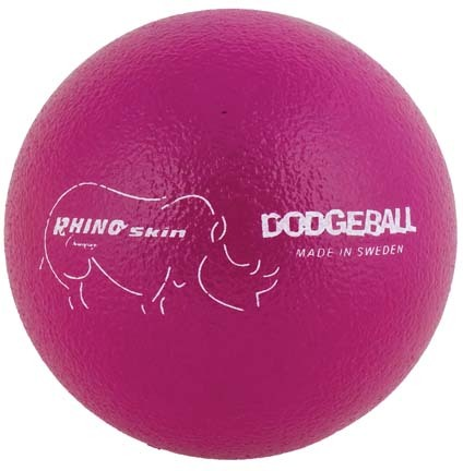 "6"" Rhino Skin® Neon Purple Dodge Balls - Set of 6"