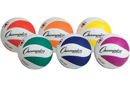 Cyclone Soccer Balls from Champion Sports (Size 4) - Set of 6
