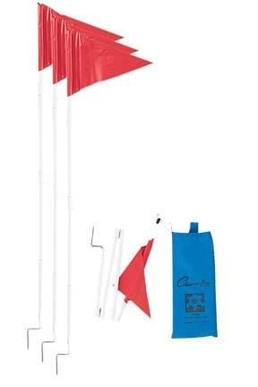 Collapsible Soccer Corner Flag Set