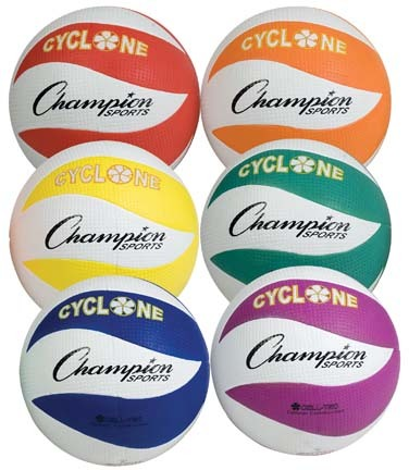 Cyclone Rubber Volleyball Set
