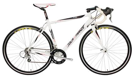 Tour De France Stage One Elite Bike White/Black 49cm