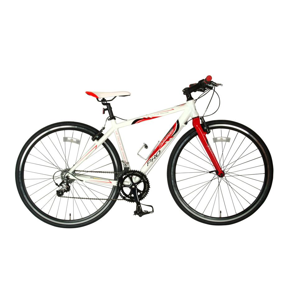 Tour De France Packleader Pro Bike White/Red 51cm
