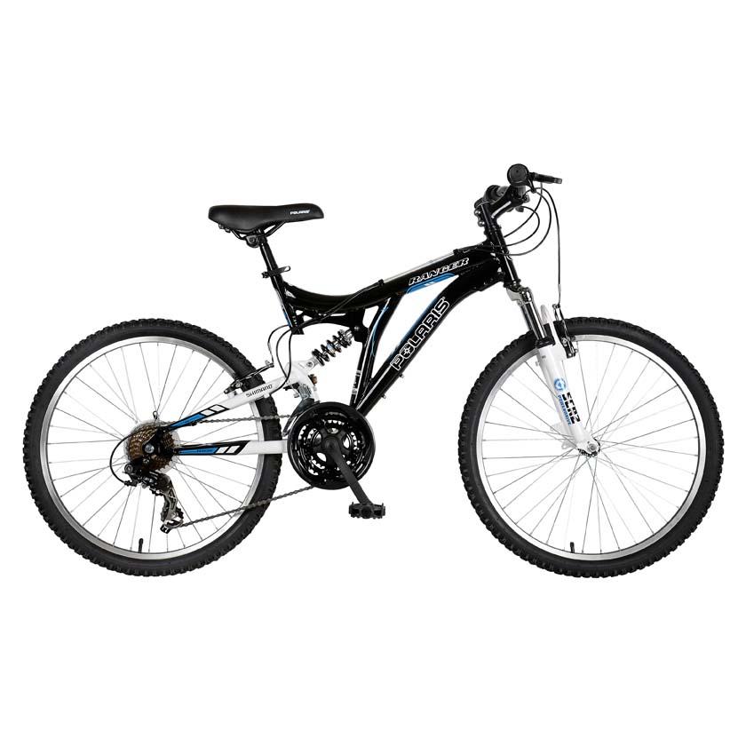 """Polaris Ranger Dual Suspension 24"""" Boys Mountain Bike"""