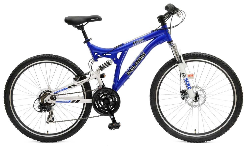 "Polaris RMK 18.5"" Dual Suspension Mountain Bike"
