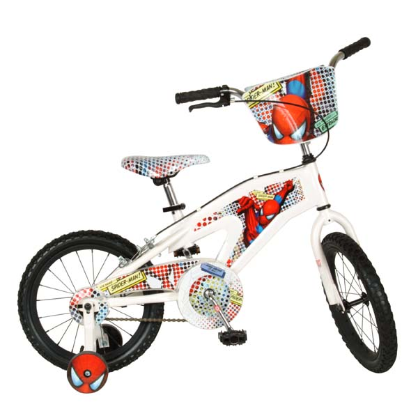 "Spiderman 16"""" Kid's Bicycle (White)"" CSG-6140000016WM"